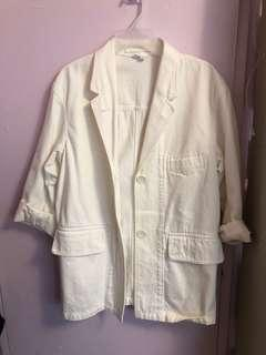 Uniqlo oversized 3/4 sleeve coat