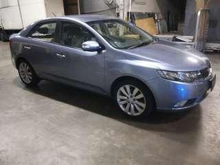 Cheap kia cerato for rent