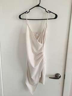 White Kylie dress size S