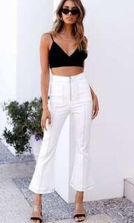 Get Right Pants (Ivory/White)