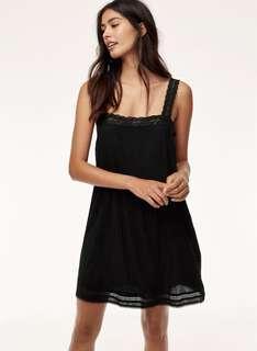 Aritzia Wilfred Leone Dress | Black, S