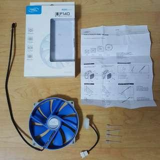 (RUSH) Case Fan 140mm - Deep Cool UF 140 (2 Pcs.)