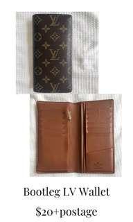 Bootleg LV Wallet