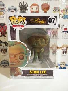 Funko Pop Stan Lee Patina Vinyl Figure Collectible Toy Gift Movie Comic Marvel Super Hero Avengers