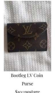 Bootleg LV Coin Purse