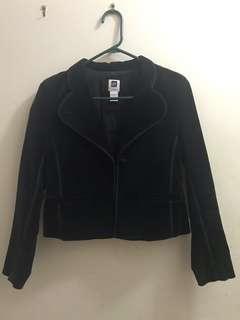 Gap Velvet Blazer Size 1