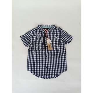 RIVER ISLAND Mini Plaid Shirt for Baby Boy
