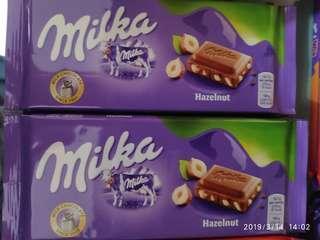 Milka Hazelnut