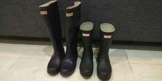 Hunter Original Short Ladies Wellingtons (Preloved)
