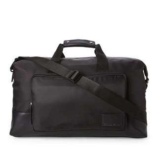 Bnew Authentic CALVIN KLEIN Black Nylon Duffel Bag