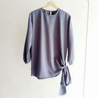 NEW Malika Blouse Grey