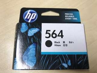 HP Printer Ink Officejet 564 Black