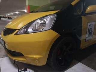 Honda fit/Jazz Fender wrap services!