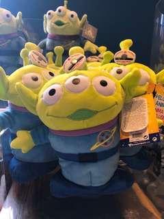 {法國代購}巴黎Disneyland🏰代購 【Toy story Alien toy】 【反斗奇兵三眼仔 音樂公仔】