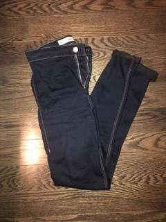 Topshop Joni Skinny Jeans Size 26 - Navy