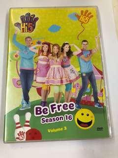 🚚 Hi-5 dvd (be free)
