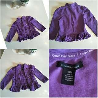 Calvin klein soft jacket for baby