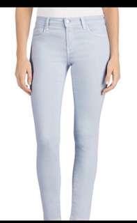 J brand high rise light blue skinny jeans