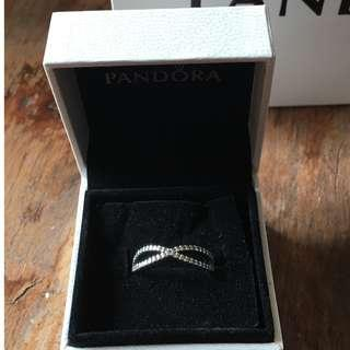 Pandora Infinity ring size 56 well looked after!