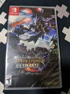 Monster Hunter Generation Ultimate (Nintendo Switch)