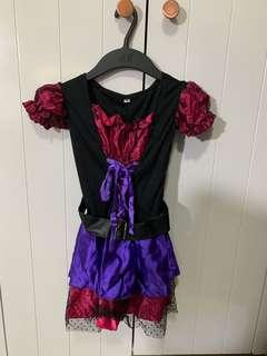 Witch Costume 3-4 yrs old