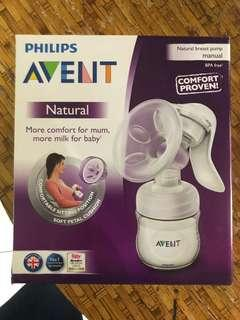 New-Philips Avent Manual Breastpump