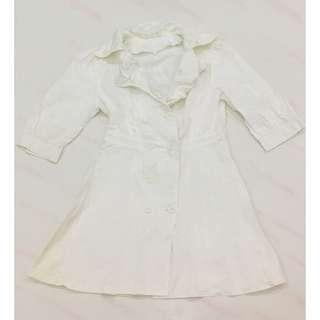 FREE White Suit Dress