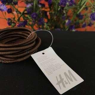 (NEW) H&M Ikat Rambut Coklat