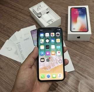 iPhone X 256 GB Space Gray Resmi iBox