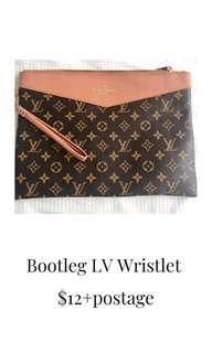 Bootleg LV Wristlet