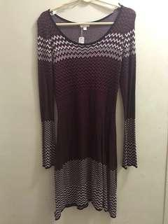 Zig Zag Knit Dress (L)