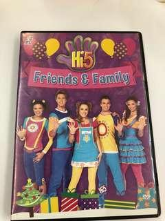🚚 Hi-5 dvd (friends and family)