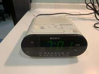 Sony Digital Alarm - radio Clock