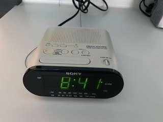 Sony digital alarm- radio clock