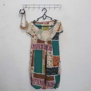 Dress Batik Kondangan
