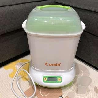 🚚 Combi 康貝奶瓶消毒烘乾鍋 - 綠