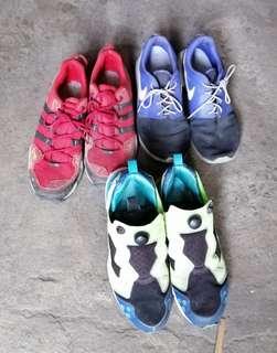 e1ed1197eadf Shoes selling as pack beaters nike roshe adidas trail hiking shoes reebok  pump like adidas puma