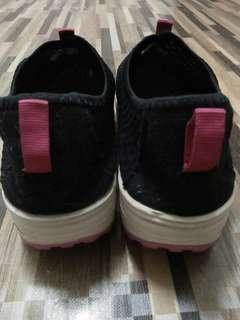 Women wedge shoes height increasing breathable