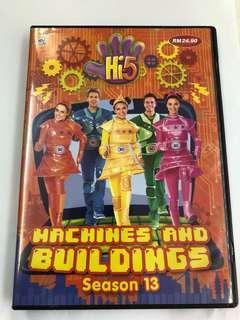 🚚 Hi-5 dvd (machines and buildings)