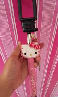 Tongsis Hello Kitty Pink