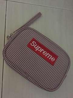 Supreme inspired design pouch bag