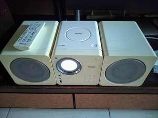 🚚 飛利浦 PHILIPS CD/USB stereo set音響