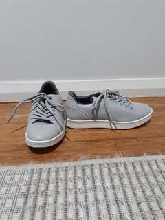 Light grey sneakers