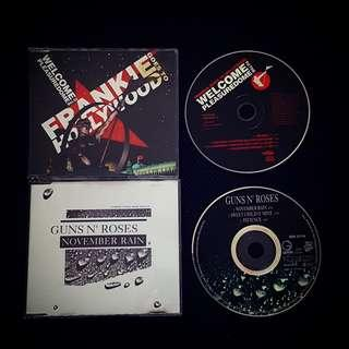 🚚 Rare Singles CD Frankie Goes to Hollywood