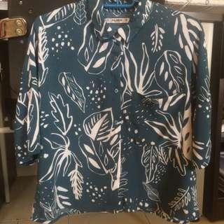 Pull & Bear Hawaiian Top