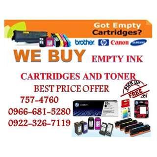 We Buy Highest Price Buyer of Empty Ink Cartridges and Toner