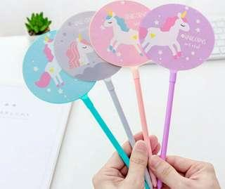Unicorn Hanfan Gel Pen