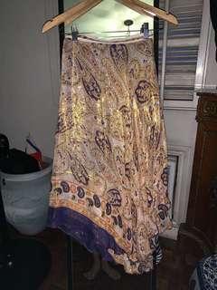 Wrap-Around Boho Skirt Imported
