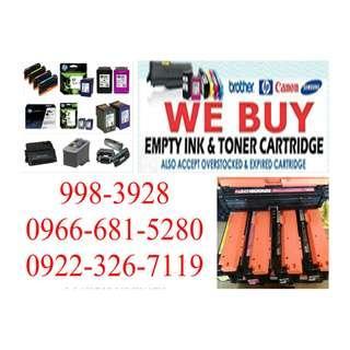 We Buy Empty Ink Cartridges and Toner