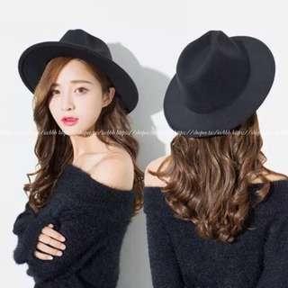 🚚 🧸韓國ulzzang原宿復古禮帽/爵士帽